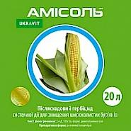 АМІСОЛЬ, РК® Післясходовий гербіцид системної дії для знищення дводольних видів бур'янів у посівах зернових культур.