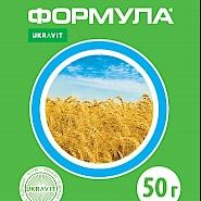 ФОРМУЛА, ВГ® Післясходовий гербіцид системної дії для знищення однорічних дводольних бур'янів у посівах зернових колосових культур, сої, кукурудзи та льону.