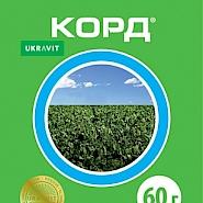 КОРД, ЗП® Післясходовий гербіцид системної дії для знищення широкого спектру однорічних дводольних видів бур'янів.