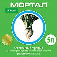МОРТАЛ, КС® Селективний гербіцид системної дії від однорічних злакових та дводольних бур'янів у посівах буряків цукрових.