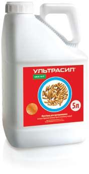 УЛЬТРАСИЛ, ТН®    Високоефективний фунгіцидний протруйник насіння зернових культур від широкого спектру збудників грибкових хвороб.
